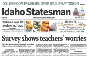 Image of Idaho Statesman newspaper