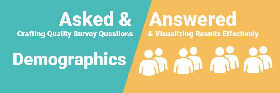 Demographic survey questions header image