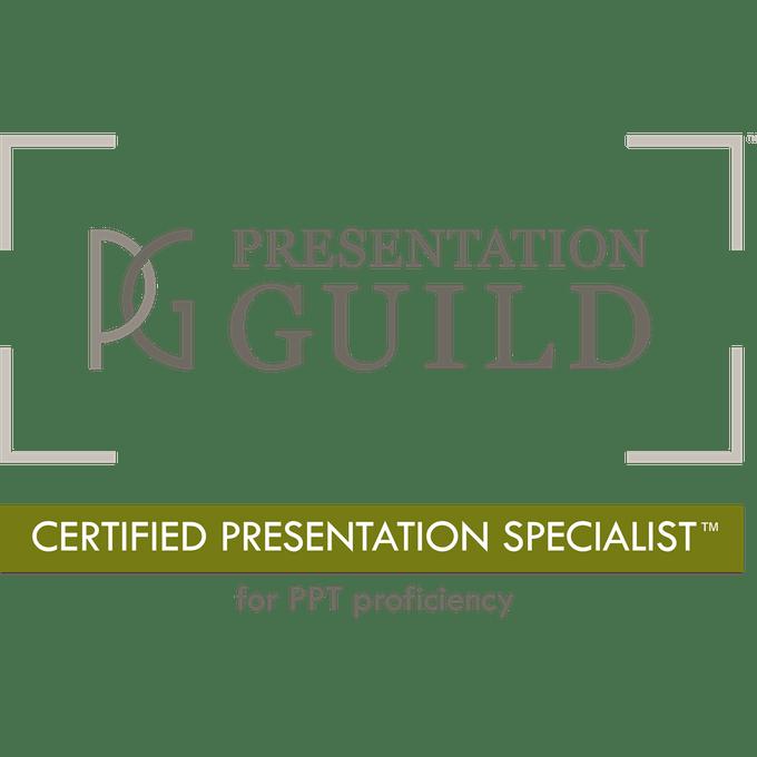 Certified Presentation Specialist