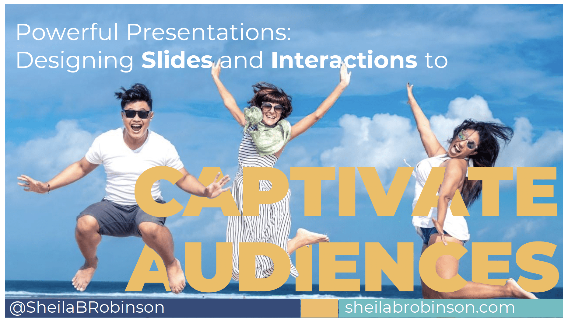 Powerful Presentations: Designing Slides and Interactions to Captivate Audiences
